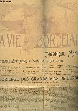 LA VIE BORDELAISE - CHRONIQUE MONDAINE / 42e ANNEE - N°2048 - DU 20 AU 26 SEPTEMBRE 1931 &...