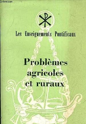 PROBLEMES AGRICOLES ET RURAUX - PRESENTATION ET TABLES PAR LES MOINES DE SOLESMES.: COLLECTIF
