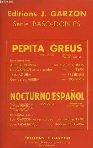 NOCTURNO ESPANOL + PEPITA GREUS - PIANO: URRENGOECHEA T. /