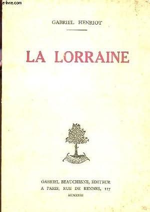 LA LORRAINE.: HENRIOT GABRIEL