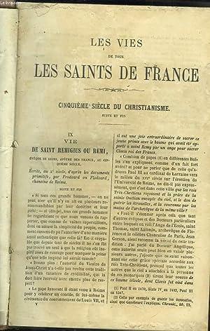 LES VIES DES SAINTS DE FRANCE DEPUIS LE PREMIER SIECLE DU CHRISTIANNISME JUSQU'A NOS JOURS ...