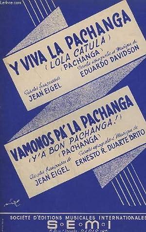 Y VIVA LA PACHANGA + VAMO?OS PA' LA PACHANGA - PIANO CONDUCTEUR + VIOLON / ACCORDEON &#...