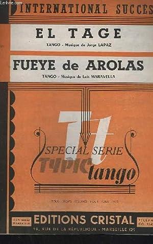 EL TAGE + FUEYE DE AROLAS -: LAPAZ JORGE /