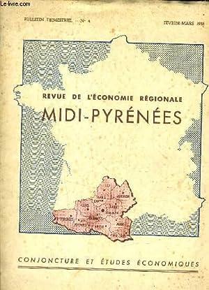 REVUE DE L'ECONOMIE REGIONALE MIDI PYRENEES N°4.: COLLECTIF