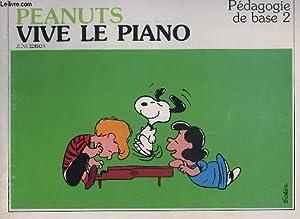 PEANUTS - VIVE LE PIANO - PEDAGOGIE: EDISON JUNE