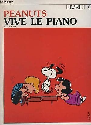 PEANUTS - VIVE LE PIANO - LIVRET: EDISON JUNE