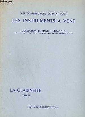 LES INSTRUMENTS A VENT - LA CLARINETTE - VOLUME 2 - LE LAPIN JAUNE + UNE FAUSSE GAVOTTE + CAPRICE +...