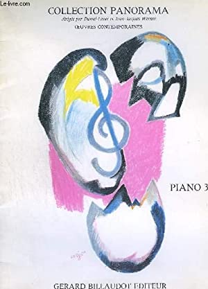 PIANO 3 - COLLECTION PANORAMA - OEUVRES: LESUR DANIEL /