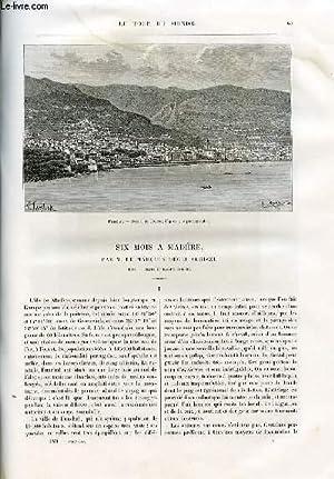 Le tour du monde - nouveau journal des voyages - livraisons n°1465 et 1466 - Six mois à ...