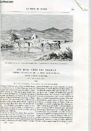 Le tour du monde - nouveau journal des voyages - livraisons n°1483,1484 et 1485 - Six mois chez...