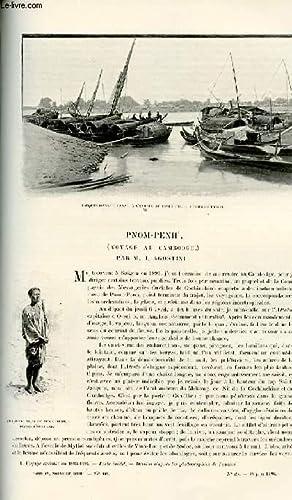 Le tour du monde - journal des voyages - nouvelle série- livraison n°025 - Pnom Penh (...