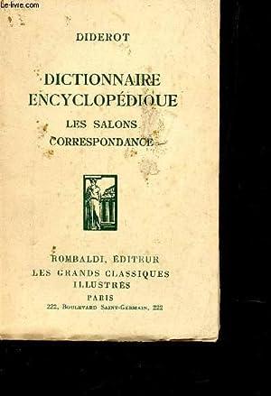 """DICTIONNAIRE ENCYCLOPEDIQUE - LESC SABLONS - CORRESPONDANCES / COLELCTION *""""LES GRANDS ..."""