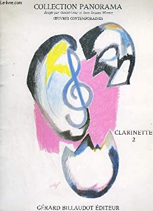 COLLECTION PANORAMA - CLARINETTE VOLUME 2 : LESUR DANIEL /