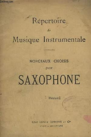 REPERTOIRE DE MUSIQUE INSTRUMENTALE - MORCEAUX CHOISIS: PATIERNO E.