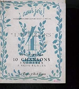LES DIZAINS N°4 - 10 CHANSONS INEDITES: PLETTENER GUY