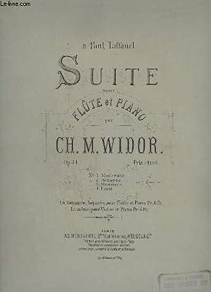 SUITE - POUR FLUTE ET PIANO -: WIDOR CH. M.