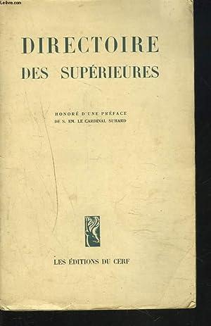 DIRECTOIRE DES SUPERIEURES: COLLECTIF