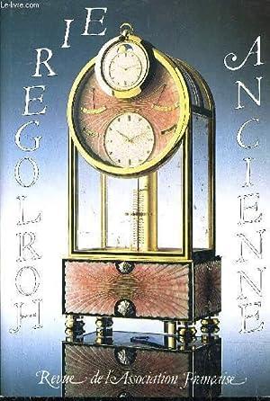 HORLOGERIE ANCIENNE REVUE N°33 - ASSOCIATION FRANCAISE DES AMATEURS D'HORLOGERIE ANCIENNE ...