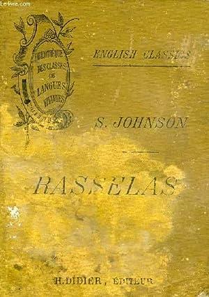 RASSELAS: JOHNSON Samuel, Par Ch. BASTIDE