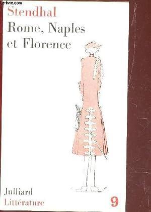 ROME, NAPLES ET FLORENCE EN 1817.: STENDHAL