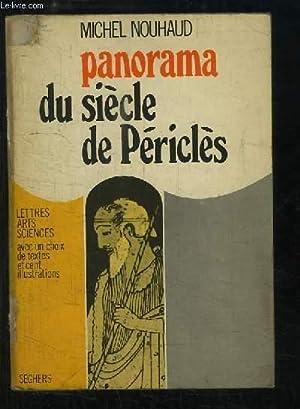 Panorama du siècle de Périclès.: NOUHAUD Michel