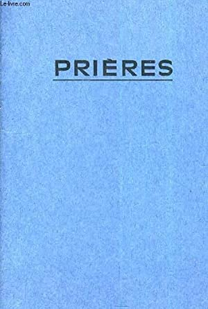 PRIERES.: COLLECTIF