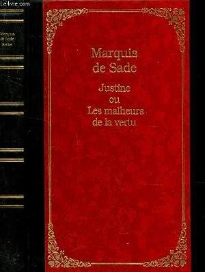 JUSTINE OU LES MALHEURS DE LA VERTU.: MARQUIS DE SADE