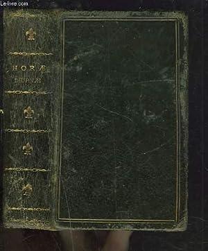HORAE DIURNAE BREVIARII ROMANI ex decreto sacrosancti: COLLECTIF