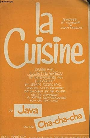 LA CUISINE JAVA + LA CUISINE CHA CHA CHA - DRUMS + PIANO CONDUCTEUR + ACCORDEON / VIOLON + 1&...