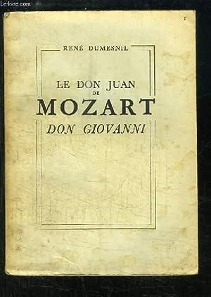 Le Don Juan de Mozart - Don Giovanni.: DUMESNIL René