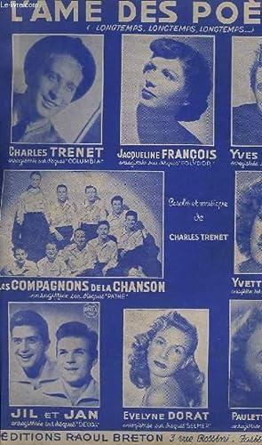 L'AME DES POETES - PIANO + CHANT.: TRENET CHARLES