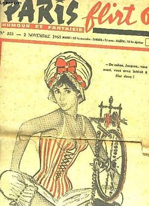 PARIS FLIRT 63 - HUMOUR ET FANTAISIE - N°353: COLLECTIF