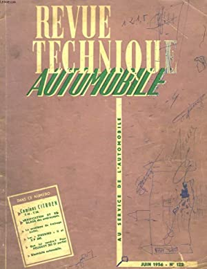 REVUE TECHNIQUE AUTOMOBILE N°122: COLLECTIF