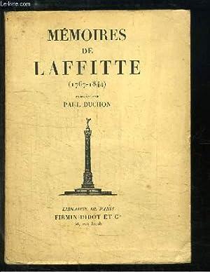 Mémoires de Laffitte (1767 - 1844): DUCHON Pa