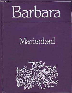 MARIENBAD - PIANO + CHANT.: BARBARA