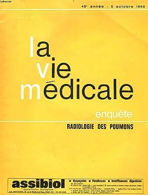 LA VIE MEDICALE - 49° ANNEE -: COLLECTIF