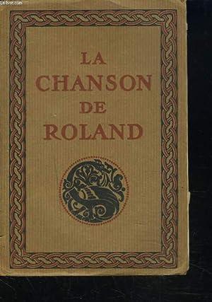 LA CHANSON DE ROLAND publiée d'après le manuscrit d'Oxford.: JOSEPH BEDIER ...
