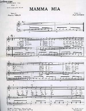 MAMMA MIA - PIANO + CHANT.: CAMISON MAT