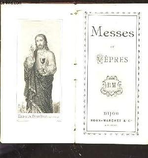 MESSES ET VEPRES.: COLLECTIF