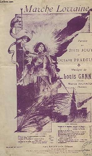 MARCHE LORRAINE - CHANT.: GANNE LOUIS
