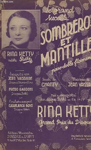 SOMBREROS ET MANTILLES - CHANT.: VAISSADE JEAN /