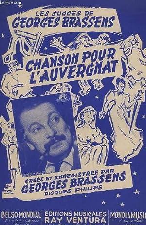 CHANSON POUR L'AUVERGNAT - CHANT.: BRASSENS GEORGES