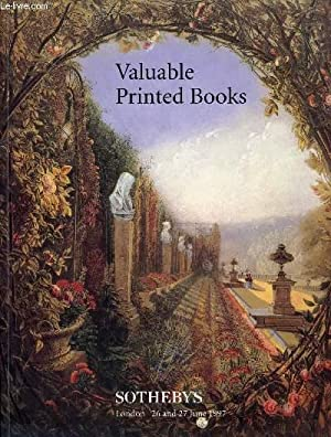 VALUABLE PRINTED BOOKS, COMPRISING NATURAL HISTORY, ATLASES, MAPS, TRAVEL, EARLY PRINTED AND ...