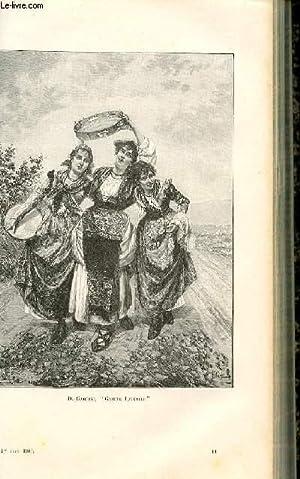 """LE MAGASIN PITTORESQUE - Livraison n°11 - D. Gabrini """"gaieté juvénie (..."""