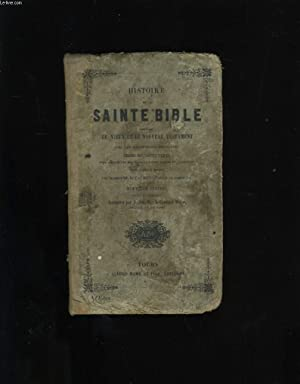 HISTOIRE DE LA SAINTE BIBLE.: COLLECTIF.