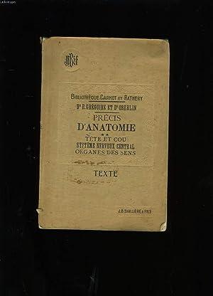 PRECIS D'ANATOMIE . TOME 2.: A. GILBERT ET