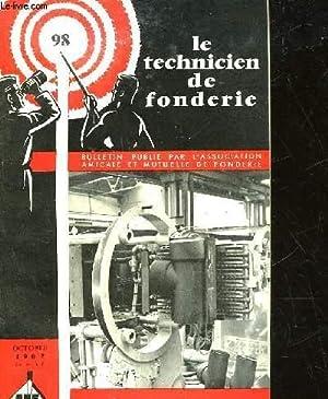 LE TECHNICIEN DE FONDERIE - N° 98: COLLECTIF