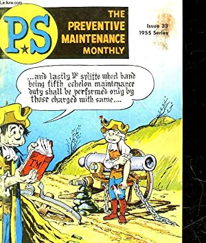 THE PREVENTIVE MAINTENANCE MONTHLY - PS - N°33: COLLECTIF