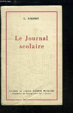 Le Journal scolaire: FREINET C.