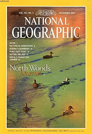 NATIONAL GEOGRAPHIC MAGAZINE, VOL. 192, N° 5, NOV. 1997 (Contents: Aging- New Answers to Old ...
